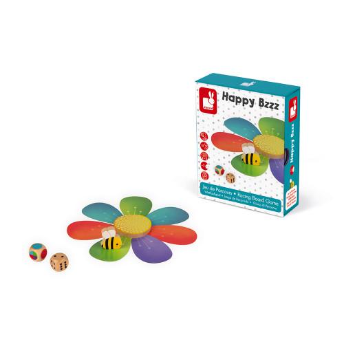 Jeu de Parcours - Happy Bzzz (bois et carton)