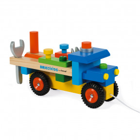 Camion da Bricolage Brico'Kids (legno)