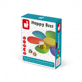 Racing Board Game - Happy Bzzz