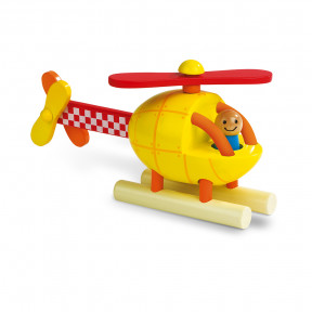 Magnetic Helicopter (wood)