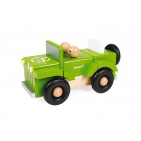 Magnetischer Bausatz Traktor (Holz)