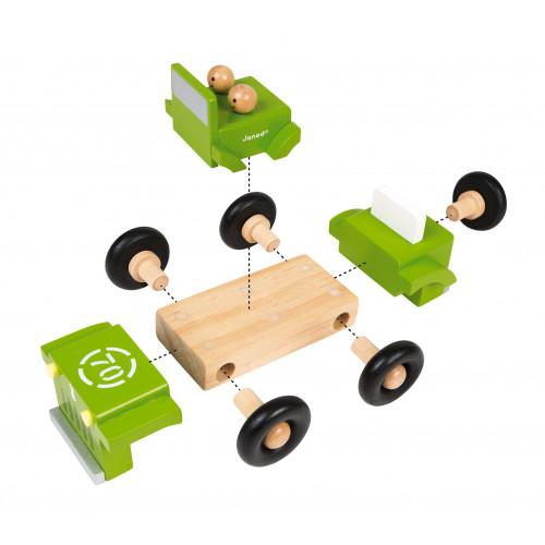 Kit Magnet - 4 X 4 (bois)