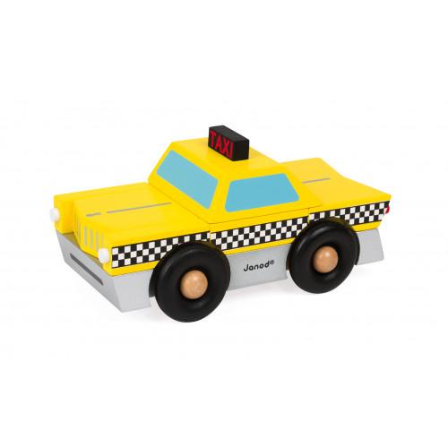 Kit Magnet - Taxi (bois)