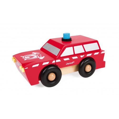 Kit Magnet - Pompiers (bois)