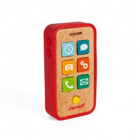 Téléphone Sonore (bois et silicone)