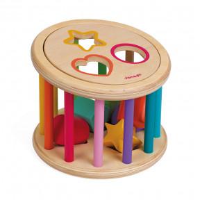 Sortierspiel Rolltrommel (Holz)