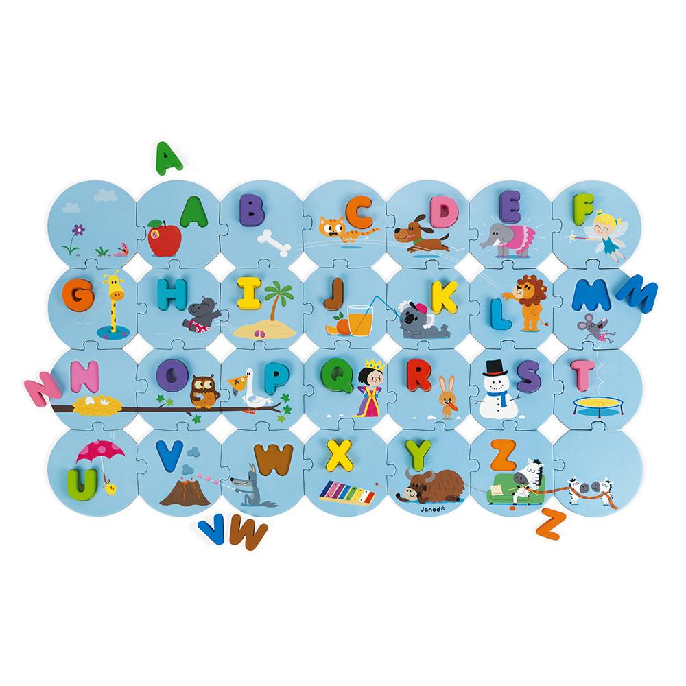 Puzzle Buchstaben Lernen Englisch