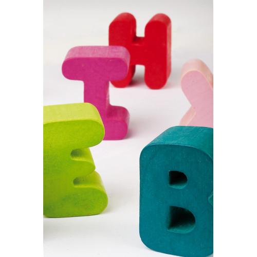Puzzle Alphabet I Wood (bois)