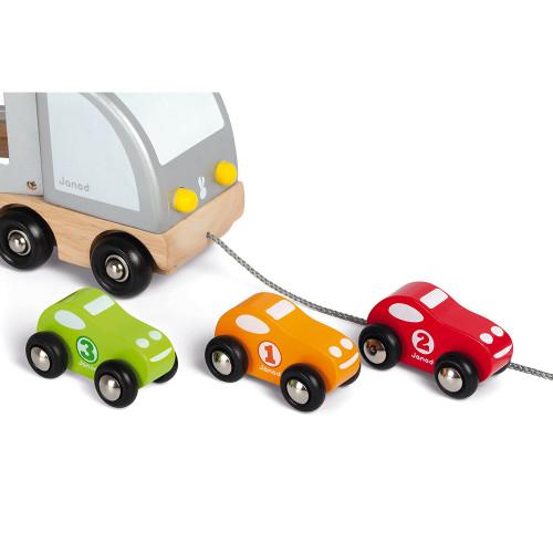 Camion multi bolides (bois)