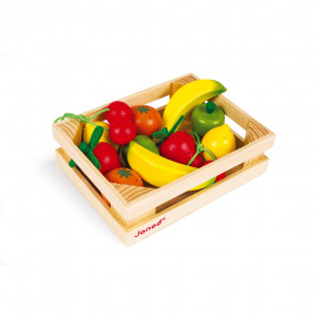 12 Fruits Crate (wood)