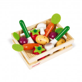 12 Vegetables Crate (wood)