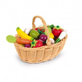 Cesta de 24 Frutas y Verduras