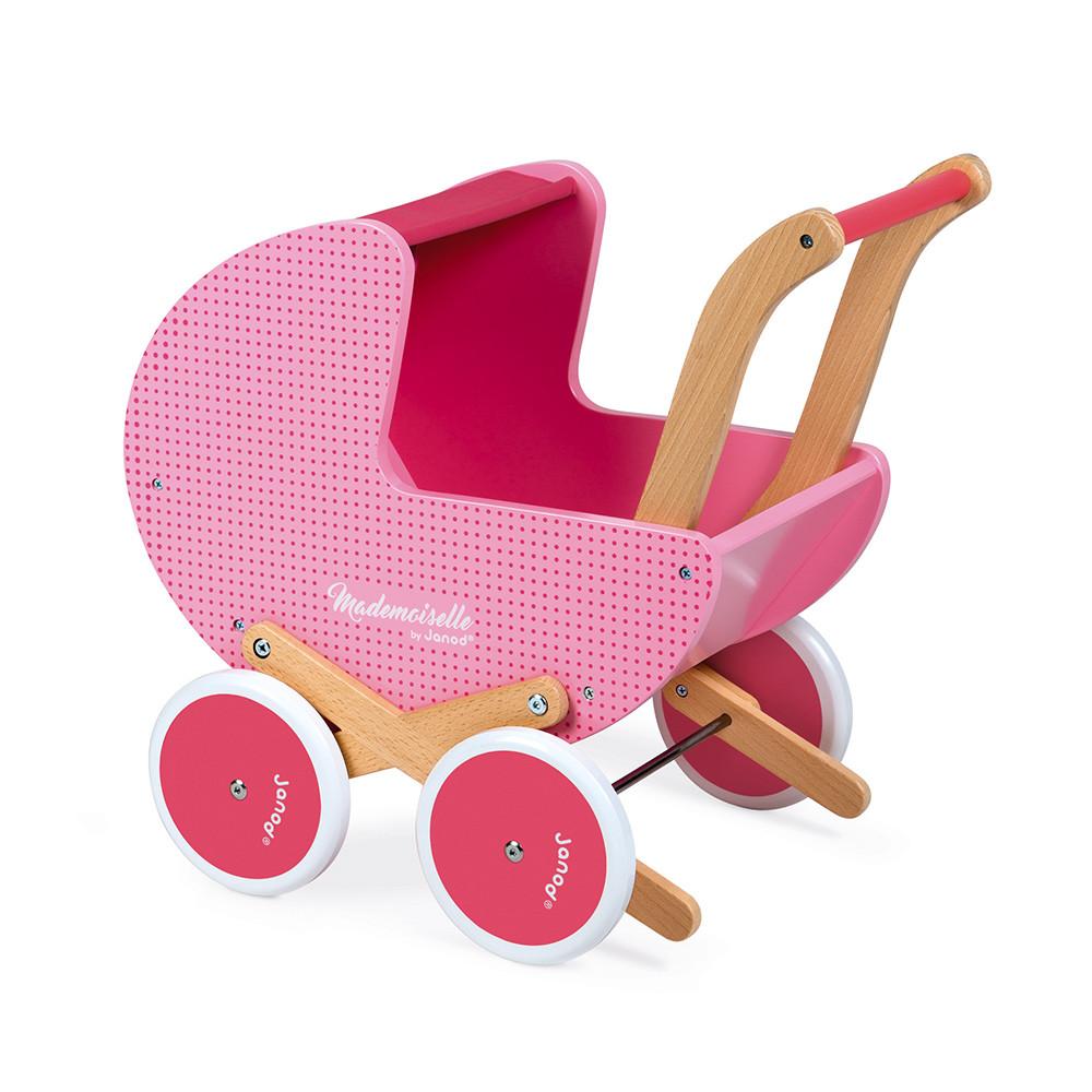 Kinder Puppen Stofftiere Puppenwagen Kinderwagen Verdeck Puppenzubehör Rosa NEU