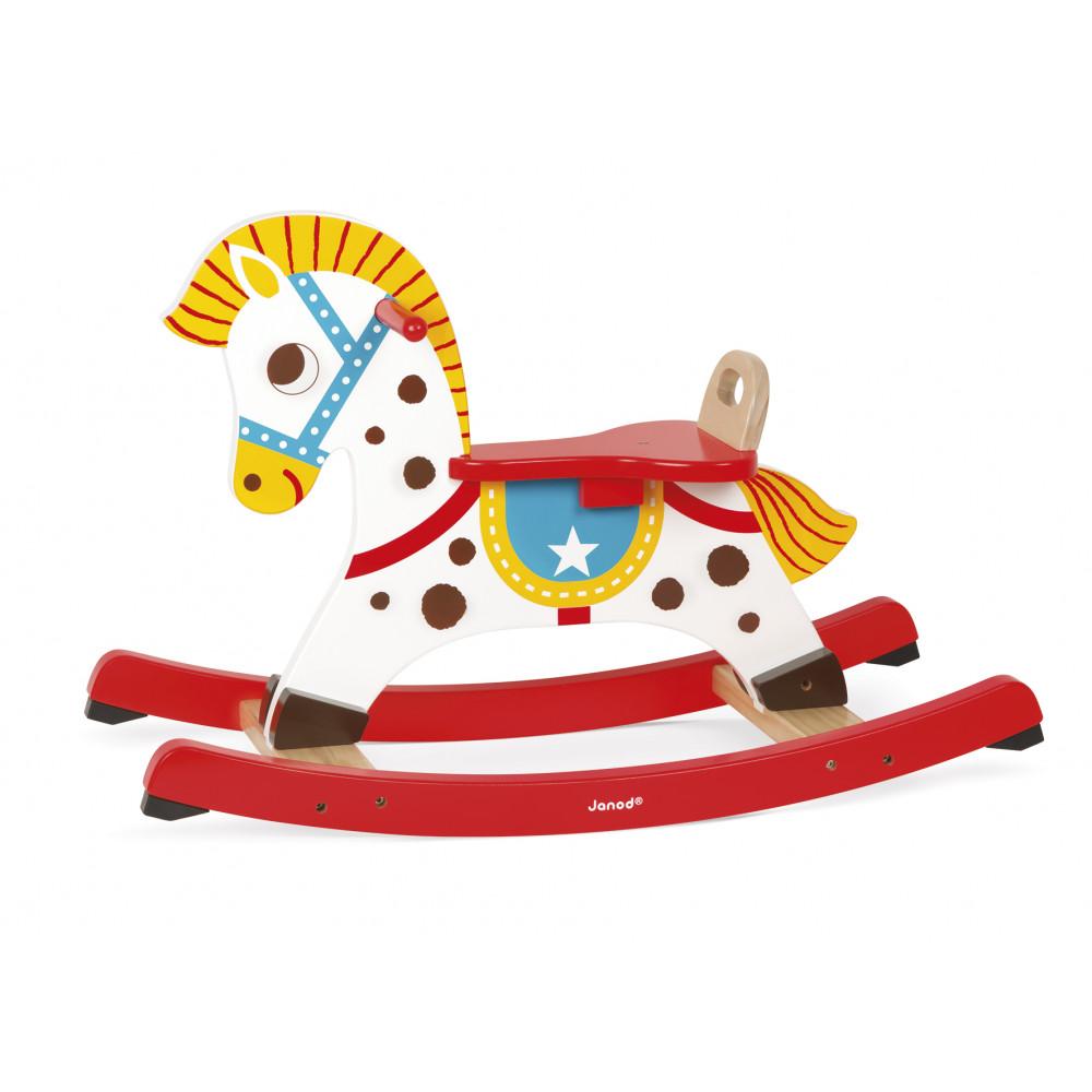 Cavallo A Dondolo Legno.Cavallo A Dondolo Punchy Legno