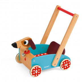 Wagen Hund Crazy Doggy (Holz)