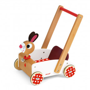 Wagen Hase Crazy Rabbit (Holz)