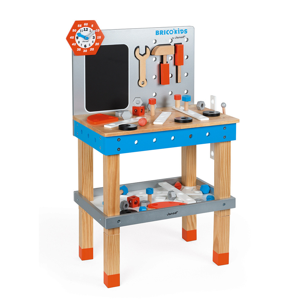 Janod Bricokids Magnetic DIY Wooden Trolley