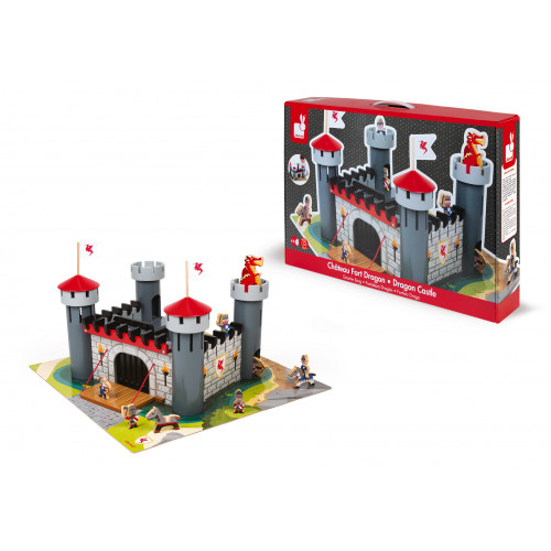 Château Fort Dragon (bois)