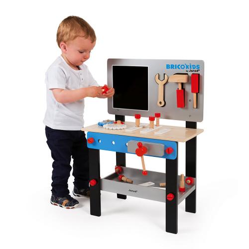 Etabli magnétique Brico'Kids (bois)