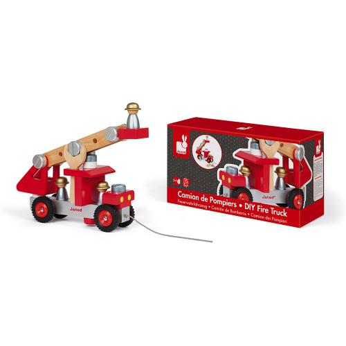 Camion de Pompiers (bois)