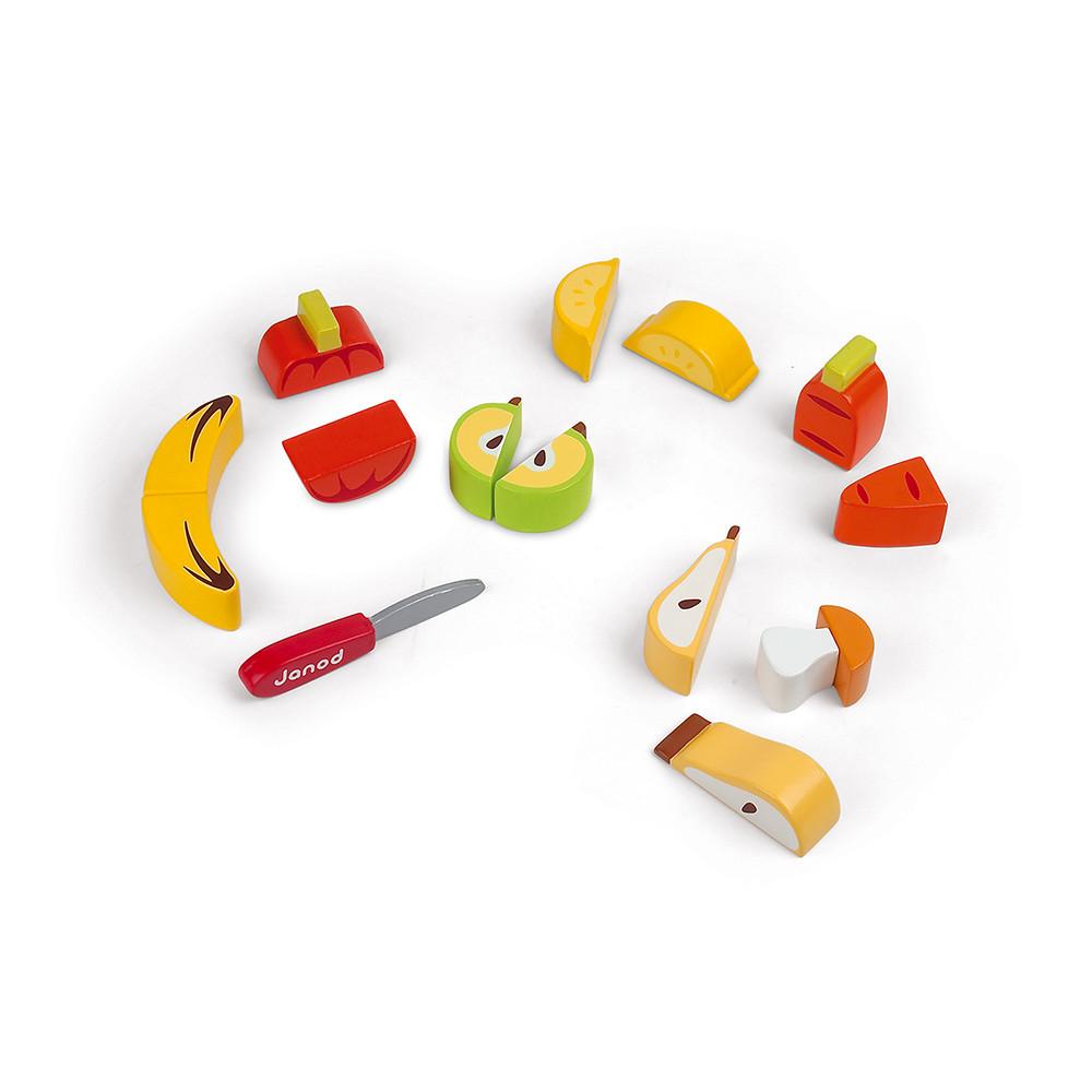 Plateau Chunky Fruits et Légumes (bois)