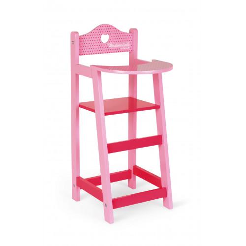 Chaise haute Mademoiselle (bois)