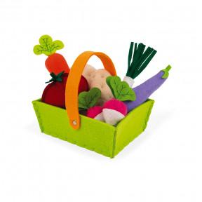 Gemüsekorb Filz 8 Teile
