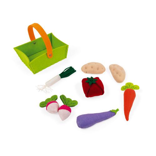 Panier de 8 Légumes en Tissu