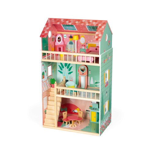 Happy Day Doll's House (wood)