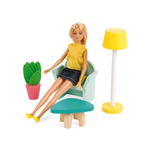 Maison de poupées Happy Day (bois)