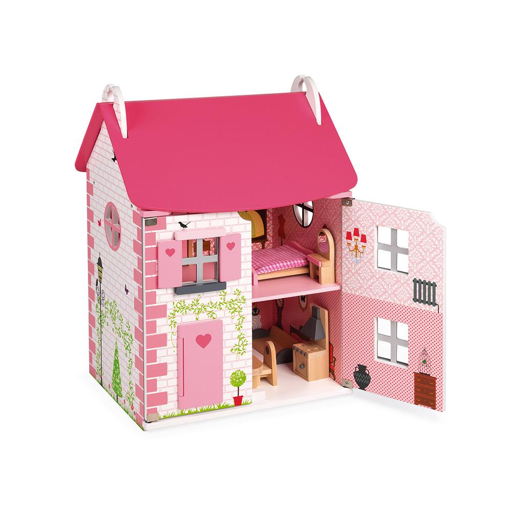 Maison de poupées miniature cartes à jouer BB