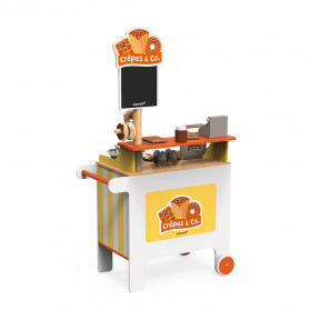 Stand Mobile ''Crêpes & Co'' (bois)