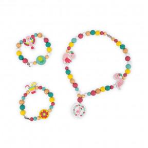 220 Perles Flamants Roses Birdy
