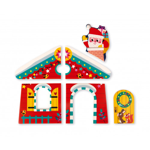 Puzzle 3 Niveaux La Nuit de Noël (bois)