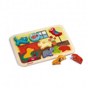 Chunky Puzzle Animaux 7 pcs (bois)