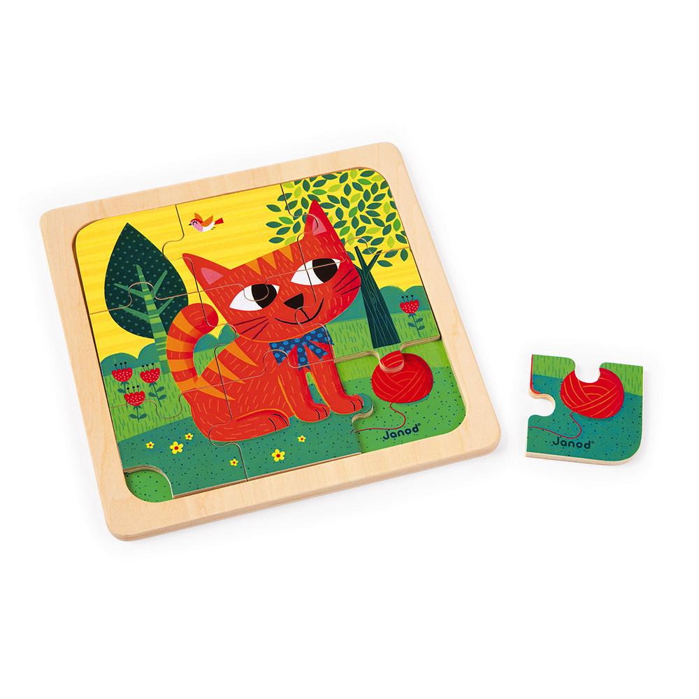 Puzzle Chat Felix 9 pcs (bois)