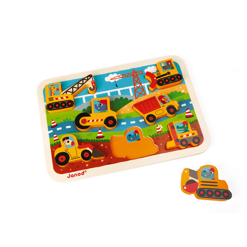 Chunky Puzzle BTP 7 pcs (bois)