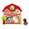 Musical Puzzle the Friends of the Farm 5 pieces (wood)