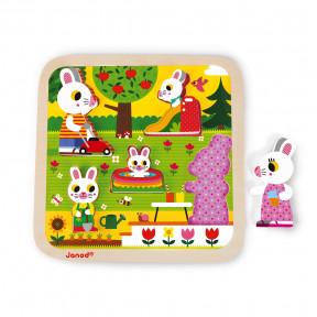 Chunky Puzzle Garten 5 Teile (Holz)