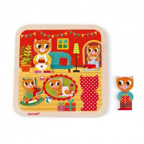 Chunky Puzzle Salotto 5 pezzi (legno)