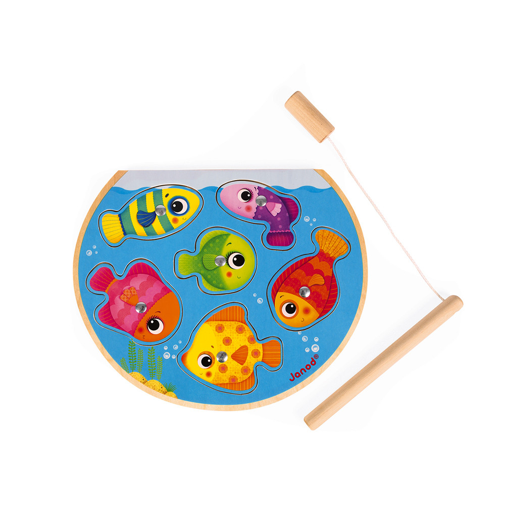 Puzzle Speedy Fish (bois)