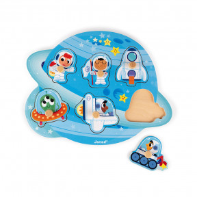Puzzle Happy Space 6 pcs (bois)