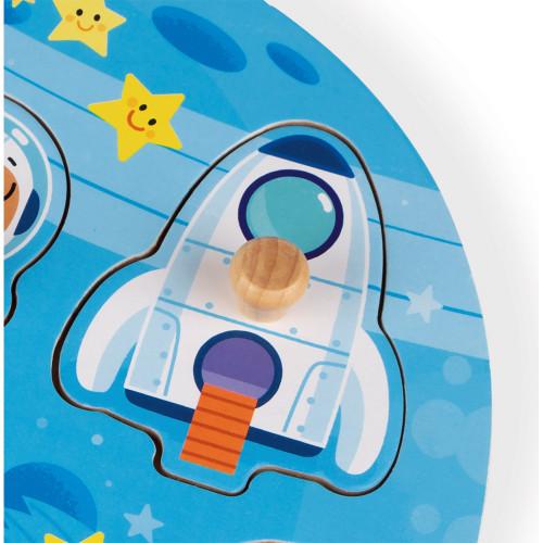 Puzzle Happy Space 6 pcs (bois)