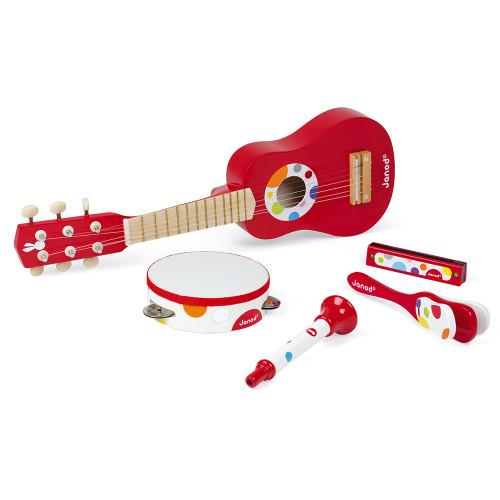 Set musical confetti (bois)