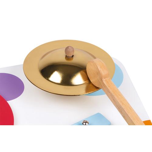 Table Musicale Confetti en bois éveil musical sonore motricité enfant à partir de 12 mois JANOD
