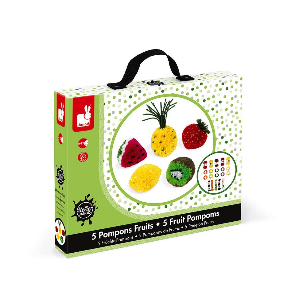 Pompons fruits