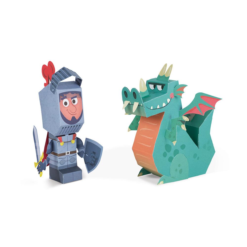 Figurines Paper Toys garçon