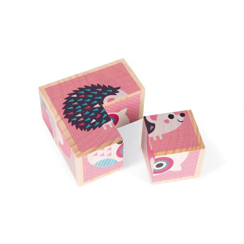 Mes Premiers Cubes - Bébés Animaux (bois)
