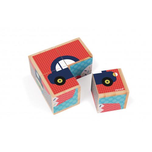 Mes Premiers Cubes - Premiers Mots (bois)