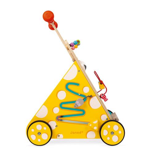 Chariot Multi-Activités Chat (bois)